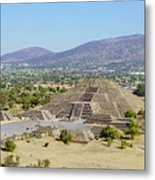 The Famous Pyramid Of The Moon Metal Print