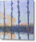 The Four Trees Metal Print