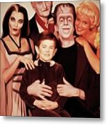 The Munsters Metal Print
