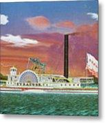 The Steamship Syracuse Metal Print