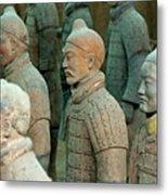 The Terracotta Army Metal Print