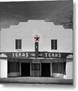 The Texas Theatre Of Bronte Texas Metal Print