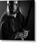 The Warrior  Metal Print