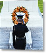 Tomb Of The Unknown Soldier Metal Print by John Greim