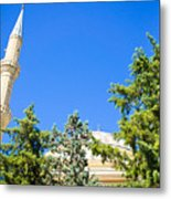 Turkish Mosque Metal Print