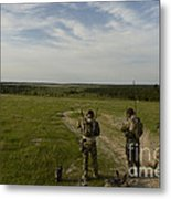 U.s. Air Force Combat Controllers Metal Print