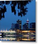 Vancouver Skyline Canada Metal Print