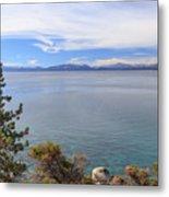 View Across Lake Tahoe Metal Print