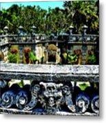 Vizcaya Museum And Gardens Metal Print