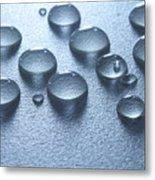 Water Drops Metal Print by Blink Images