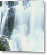 Waterfall Close-up Metal Print
