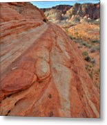 Wave Of Color In Valley Of Fire Metal Print