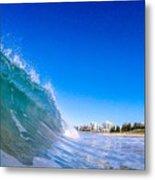 Wave Photo Metal Print