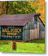 West Virginia Barn Metal Print