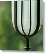 Window Sill Decoration Metal Print