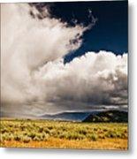 Wyoming Sky Metal Print