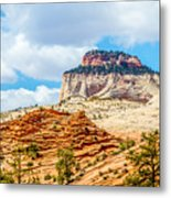Zion Canyon National Park Utah Metal Print