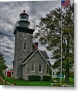 30-mile Point Lighthouse 3197 Metal Print