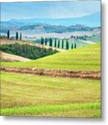 Tuscany Italy Metal Print