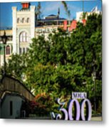 300 Years Of New Orleans Metal Print
