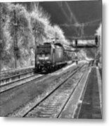 301 Ice Train Metal Print