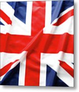 British Flag 6 Metal Print