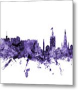 Edinburgh Scotland Skyline Metal Print