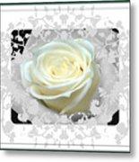 Wedding Rose Collection  Metal Print