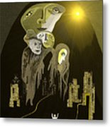 316  An Arrival Of The Gods A  Metal Print