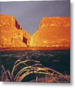 317828 Sunrise On Santa Elena Canyon  Metal Print