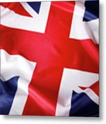 British Flag 7 Metal Print