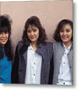 Cuidad Juarez Mexico Color From 1986-1995 Metal Print
