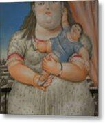 Bogota Museo Botero Metal Print
