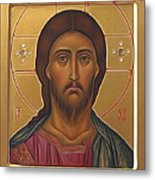 Jesus Christ Lord Savior Metal Print