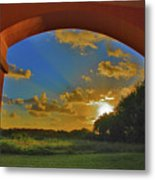 33- Window To Paradise Metal Print