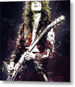 Jimmy Page. Led Zeppelin. Metal Print