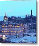 Edinburgh, Scotland Metal Print