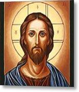 Jesus Christ Savior  Metal Print
