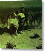 35427 Frederick Remington Metal Print