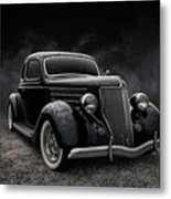 36 Ford Five Window Metal Print