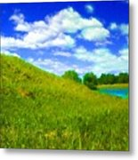 Pictures Of Oil Paintings Landscape Metal Print