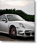 360 Forged Porsche 997tt 2 Metal Print