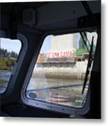 The New Tacoma Narrows Bridge Metal Print