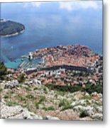 Dubrovnik Croatia Metal Print