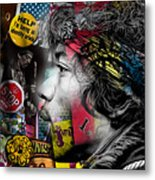Jimi Hendrix Collection Metal Print