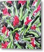 Divine Flowers Metal Print