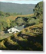 3b6348 Benzinger Family Winery Metal Print