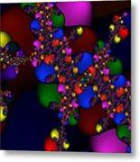 3x1 Abstract 908 Metal Print