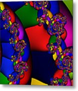 3x1 Abstract 909 Metal Print