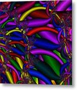 3x1 Abstract 911 Metal Print